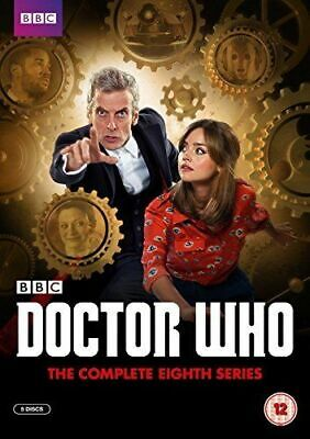 Doctor Who. Series 8. Eighth Series. Complete. BBC. 5 Disc Dvd Set. Regions 2,4