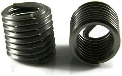 Helicoil Thread Insert EZ-LOK Stainless Steel Helical Coil Inserts - #10-32