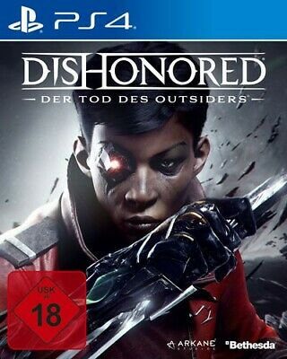 PS4 / Playstation 4 - Dishonored: Der Tod des Outsiders nell'imballaggio usato