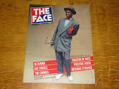 THE FACE MAGAZINE - VOL.1 No. 14 - DEPECHE MODE THEATRE OF HATE THE CHORDS
