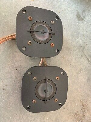Pair Focal TC90TDX Inverted Dome Tweeters Only One Works