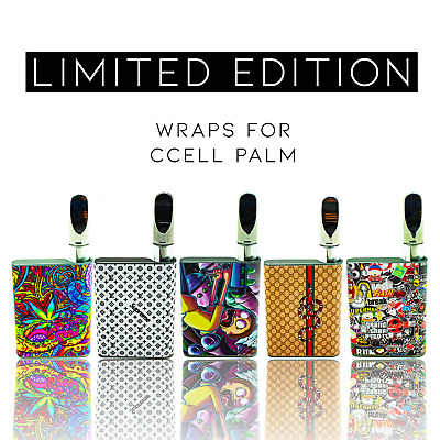 Custom Skin Decal for *CCell² Palm² OR Pre-Wapped - Limited Editions - US SELLER