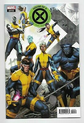 House of X #4 Marvel Comics 2019 Molina Connecting Variant Cover NM Sold Out!