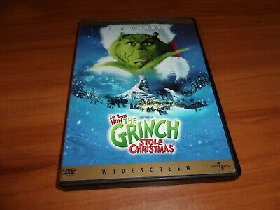 How the Grinch Stole Christmas (DVD, 2001, Widescreen)