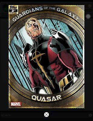 Topps MARVEL COLLECT DIGITAL Card GUARDIANS OF GALAXY 2ND PRINTING QUASAR