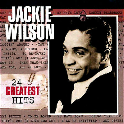 JACKIE WILSON * 24 Greatest Hits *  NEW CD * All Original Recordings