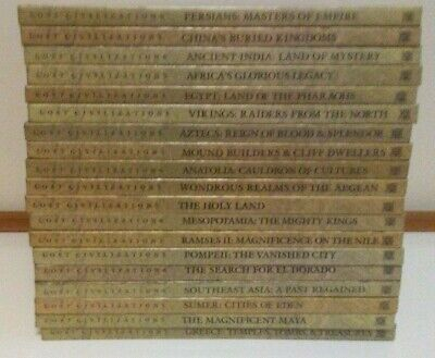 LOST CIVILIZATIONS by Time-Life Books - Set of 19 books