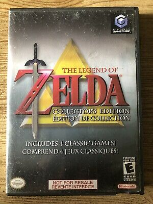 Legend Of Zelda : Collector's Edition -( Nintendo Gamecube ) Complete !