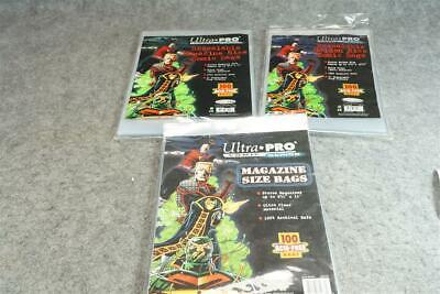 Ultra Pro Comic Series Resealable Golden Size Comic Bags Acid Free Est. Xx Bags