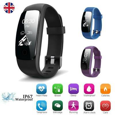 Smart Watch Sport Sleep Fitness Tracker Step Counter Calorie Heart Rate Monitor