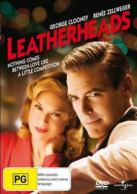 Leatherheads (2008) Region 2 & 4 & 5 George Clooney New Sealed (D495)