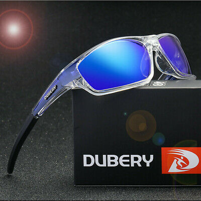 DUBERY  Men's Polarized Sport Sunglasses Outdoor Riding Fishing Goggles Glasses