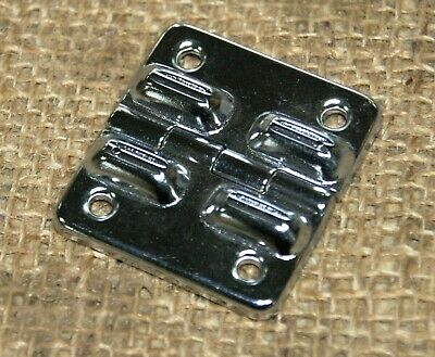 Guitar Case Replacement Hinge, Chrome, New