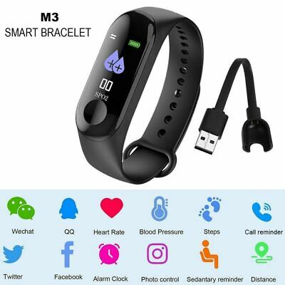 Smartwatch Orologio M3 Smart Band Fitness Tracker Cardiofrequenzimetro Sport