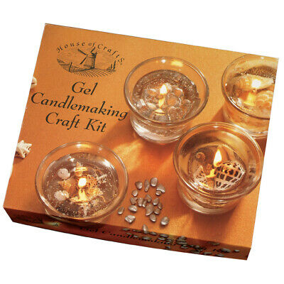 House of Crafts Gel Candlemaking Craft Kit