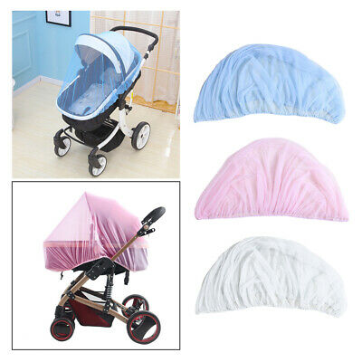 Universal Mosquito fly insect sun dust protect cover net mesh Pram Stroller N18