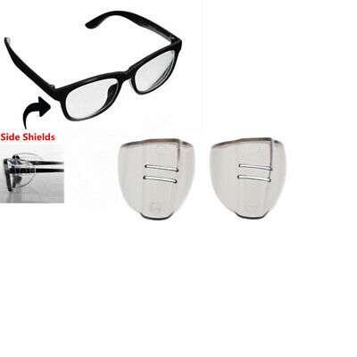 Pair of AWaterproof Safety Glasses Wings Side Shields Goggles Eye Protection