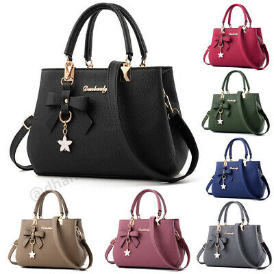 Ladies Fashion Handbags Shoulder Purse Women Crossbody Leather Tote Designer Bag