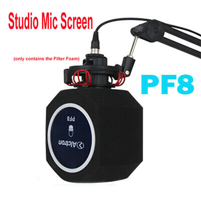 Professional Studio Micphone Screen Recording Booth Vocal Reflection Filter Foam