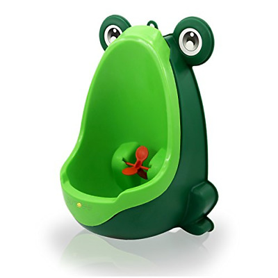 FROG POTTY TRAINING Urinal for Boys Cute Funny Aiming Target Toddler Pee Trainer