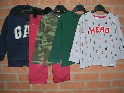100% BABY GAP Boys Bundle Tops Shirts Jeans Jacket Jumpers Age 18-24m