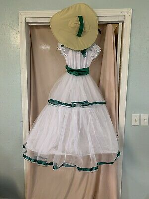 Gone With The Wind Scarlett O' Hara Girls Dress/Halloween Costume-size 12/14