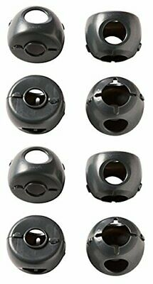 Safety 1st Grip N' Twist Door Knob Covers Decor, 8-Count