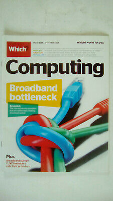 Which Computing Magazine March 2012
