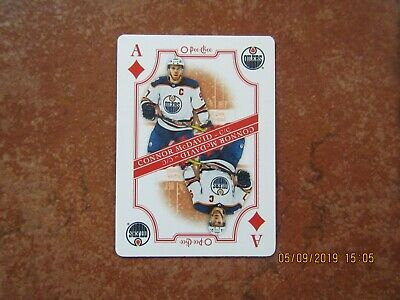2019-20   19-20   O  PEE  CHEE  OPC  PLAYING CARDS  SP ACES  Connor McDavid