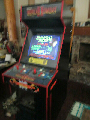 STREET FIGHTER 2 II CE Champion Ed  Arcade Video game Red Angle 3 koam Cabinet c