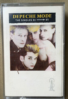 Depeche Mode - The Singles 81-85 - Cassette Tape - Very good condition