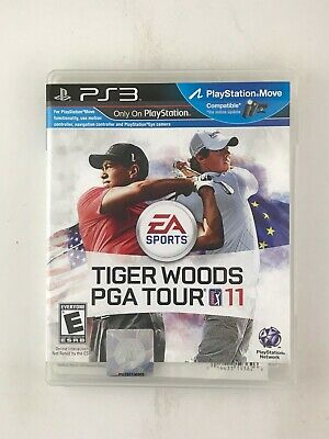 Tiger Woods PGA Tour 11 - Playstation 3 PS3 Game - Complete & Tested