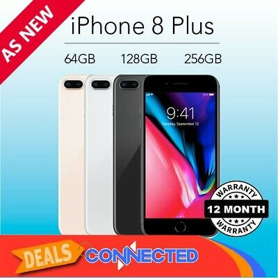 New Apple iPhone 8 Plus 64GB 256GB Smartphone 4G Unlocked Red Gold Silver Grey