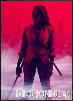 SMOKE MOTION #1 MICHONNE 2019 Topps THE WALKING DEAD DIGITAL Card Trader