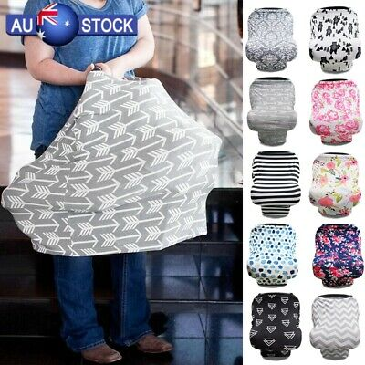 Breastfeeding Baby Nursing Cover Infant Stroller Car Seat Scarf Seat Canopy New
