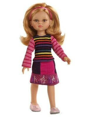 Paola Reina Doll Ava 32cm Vanilla Scented Gift Boxed New 04618