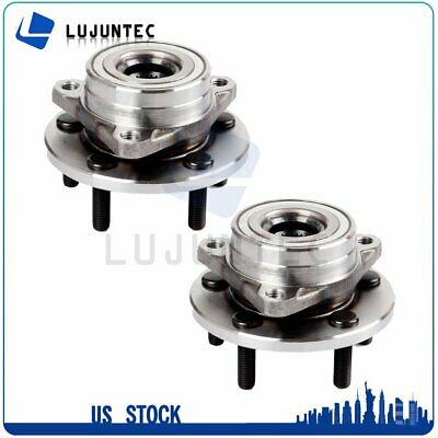 Pair : 2 Front Right or Left Wheel Hub Bearing Assembly For Ford Mercury Lincoln