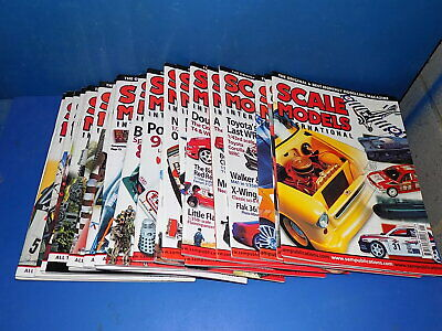 Scale Models International Magazine 2002 - 2005 Select From Back Issues