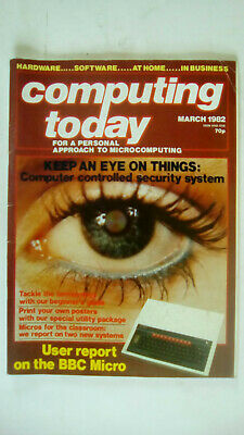 Computing Today Magazine March 1982