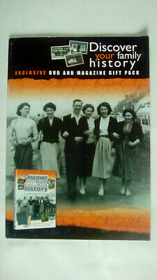 Discover your Family History Magazine NO DVD