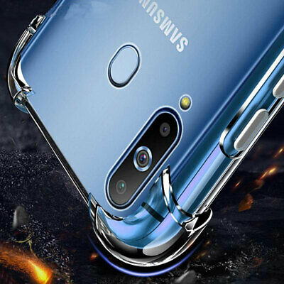 For Samsung Galaxy S10 S9 S8Plus Note 8 / 9Clear Shockproof Bumper Case Cover Ak