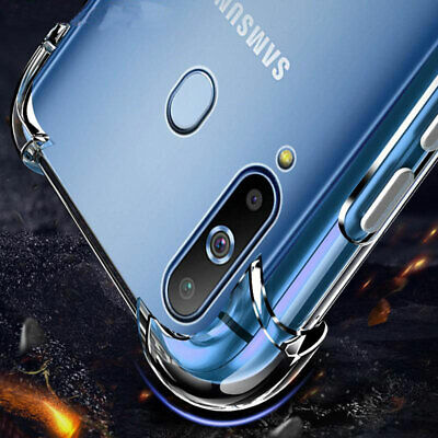 For Samsung Galaxy S10 S9 S8Plus Note 8 / 9Clear Shockproof Bumper Case Cover Ay