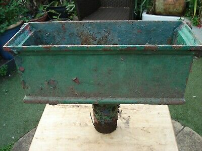 rainwater hopper antique (garden planter)