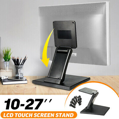 Universal 10''-27'' VESA Touch Screen LCD Display Stand Folding Monitor Holder