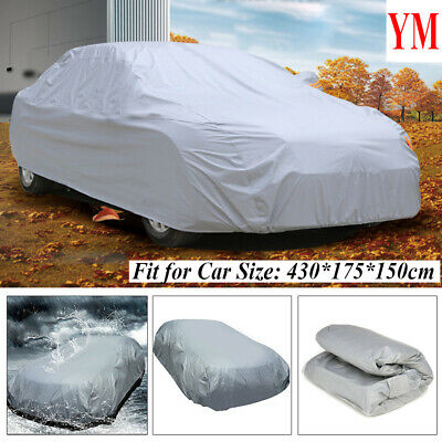 Universal Breathable Waterproof Full Car Cover Medium Size UV Protection lU