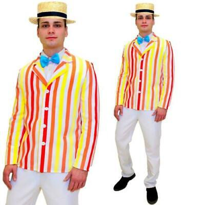 20s Mary Poppins  Shop Mens Fancy Dress 1920s Boater Jacket Adults  Costume