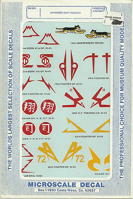 Microscale decals 1//48  48-59 B-17s #3      D110