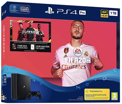 PS4 Pro FIFA 20 Bundle (PS4) BRAND NEW AND SEALED - IN STOCK - QUICK DISPATCH