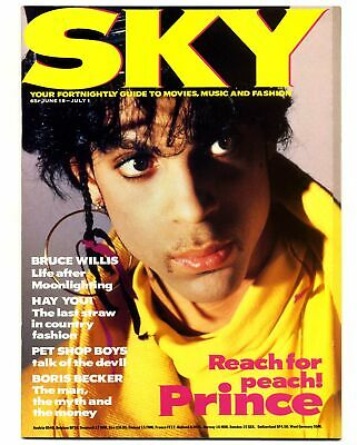 SKY Magazine No 5 June/July 1987 Prince fold out cover Jean Paul Gaultier Pet