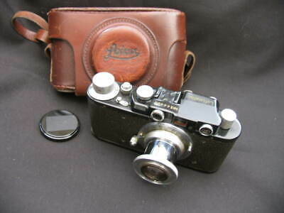 Russian Copy Of German Wwii Leica Rangefinder Camera